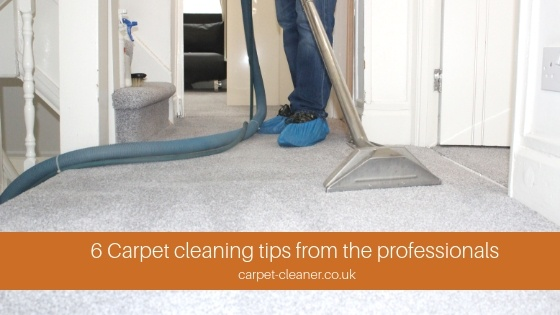 6 Carpet Cleaning Tips From The Professionals