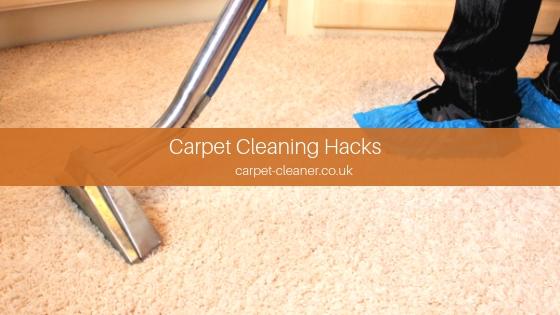 Carpet Cleaning Hacks