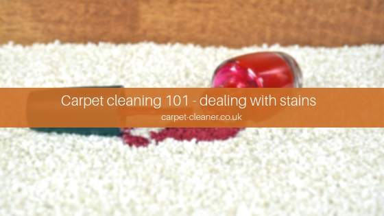 Carpet Cleaning 101 Dealing With Stains